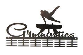 TrendyShop DC Gymnastics male Pommel Medal Hanger - Black