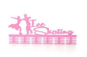 TrendyShop DC Ice Skating Medal Hanger - Pink
