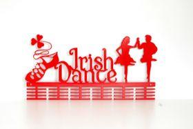 TrendyShop DC Irish Dancing Medal Hanger - Red