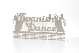 TrendyShop DC Spanish Dancing Medal Hanger - Stainless Steel