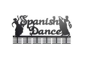 TrendyShop DC Spanish Dancing Medal Hanger - Black