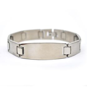 Xcalibur Stainless Steel ID Bracelet Which Is Highly Polished - TXB054