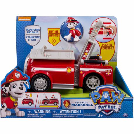 Paw Patrol Lights & Sound Feature Vehicle - Marshall