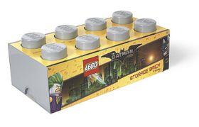 LEGO Batman Movie Storage Brick 8 - Grey