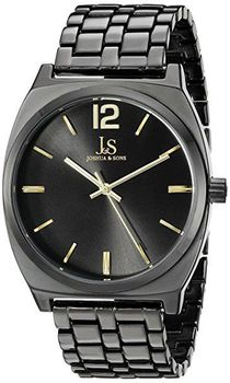 Joshua & Sons Women's Black Quartz Watch JX102BKG
