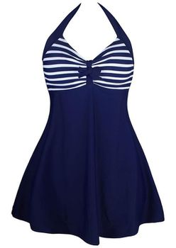 Sailor Swim Dress