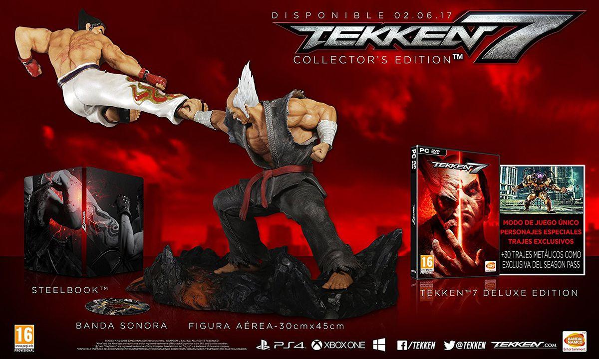 Znalezione obrazy dla zapytania tekken 7 collector's edition pc