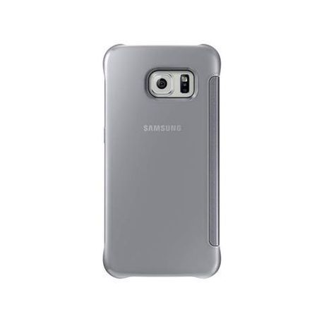 promo code 10b04 3e84a Samsung Originals Galaxy S6 Edge Clear View Cover - Silver