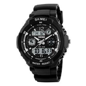 Skmei Men's 5Atm Water Resistant Watch - Silver