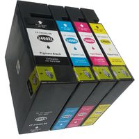 Compatible Canon Ink Combo Pack Black/Cyan/Yellow/Magenta 2400XL/2400 XL