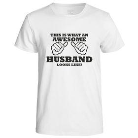This Is What An Awesome Husband Looks Like Men's T-Shirt - White