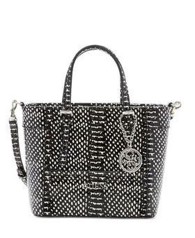 Guess Delaney Petite Tote Bag - Black