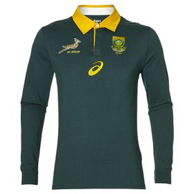 Men's Asics Springboks Fan Long Sleeve Jersey
