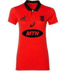 Women's Asics Springboks Fan Shirt