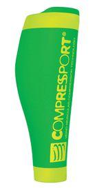 Compressport R2 V2 Calf Sleeve - Fluo Green - T1