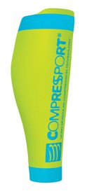 Compressport R2 V2 Calf Sleeve - Fluo Yellow - T4