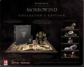 The Elders Scroll Online: Morrowind Collectors Edition (PS4)