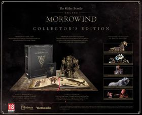 The Elders Scroll Online: Morrowind Collectors Edition (Xbox One)