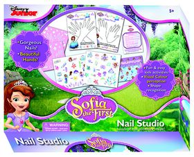 Disney Sofia The First - My Nail Studio Game