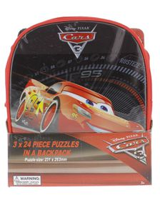 Cars 3 - 3 Puzzles In Bag