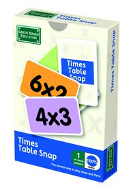 BrainBox Times Tables Snap Education