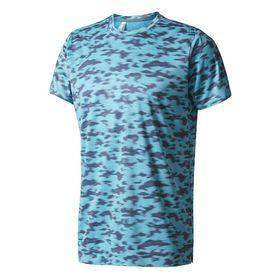 Men's adidas Climachill Blurred Camo T-shirt