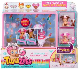 Twozies Twogether Playset - Too Cool Ice Cream Cart
