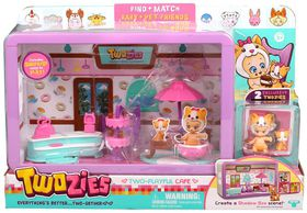 Twoozies Two Playful Cafe Playset