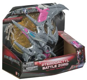 Power Rangers Dino Zord With Figure - Pterodactyl Battle Zord With Pink Ranger