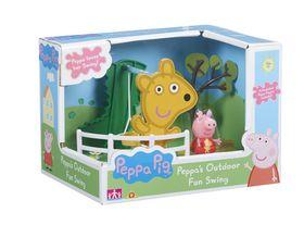 Peppa Pig Outdoor Playset - Fun Swing