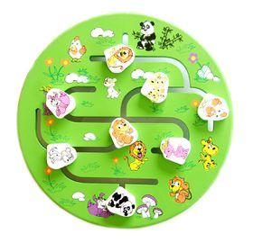Wooden Maze game - Animals