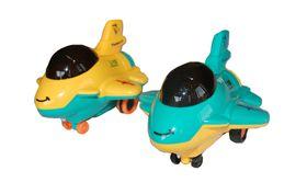 Plastic plane toy set of 2