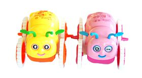 Little Bee Baby Toy - Pink and Yellow (Set of 2)