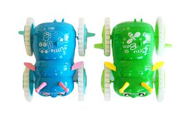 Little Bee Baby Toy - Blue and Green (Set of 2)
