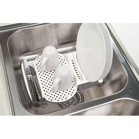 Progressive Kitchenware In Sink Dish Drainer White Buy Online In South Africa Takealot Com