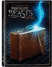 Fantastic Beasts and Where to Find Them (Suitcase Sleeve) (DVD)