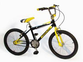 """Peerless 20"""" Kids Bike - Black & Yellow"""