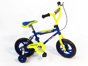 BMX Bicycle with Training Wheels -  12 Inch Kids