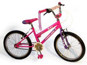 BMX Girls Flower Power Bike - Pink 20 Inch