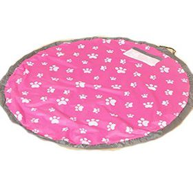 Practical And Portable Storage Bag For Kids Toys - Pink