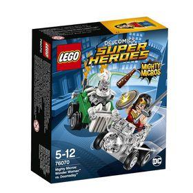 LEGO® Super Heroes - Mighty Micros: Wonder Woman Vs. Doomsday 76070