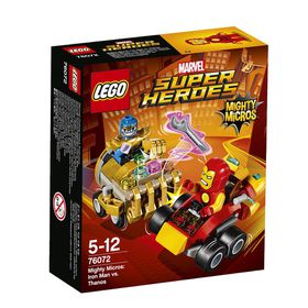 LEGO® Super Heroes - Mighty Micros: Iron Man Vs. Thanos 76072