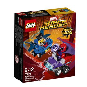 LEGO® Super Heroes - Mighty Micros: Wolverine Vs. Magneto 76073