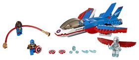 LEGO® Super Heroes - Captain America Jet Pursuit 76076