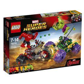 LEGO® Super Heroes - Hulk Vs. Red Hulk 76078