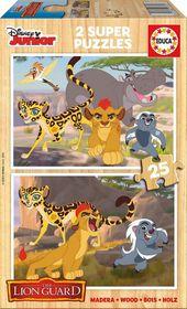 Educa The Lion Guard - 2 x 25 Piece