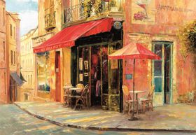 Educa Hillside Cafe Haixia Liu - 1500 Piece
