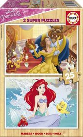 Educa Disney Princesses - 2x25 Piece