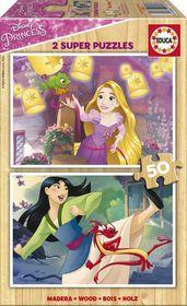 Educa Disney Princesses - 2x50 Piece