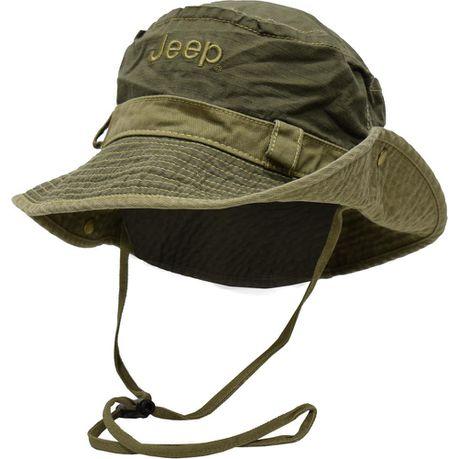 731ee625efb70 Jeep Bucket Snaps Hat - Olive